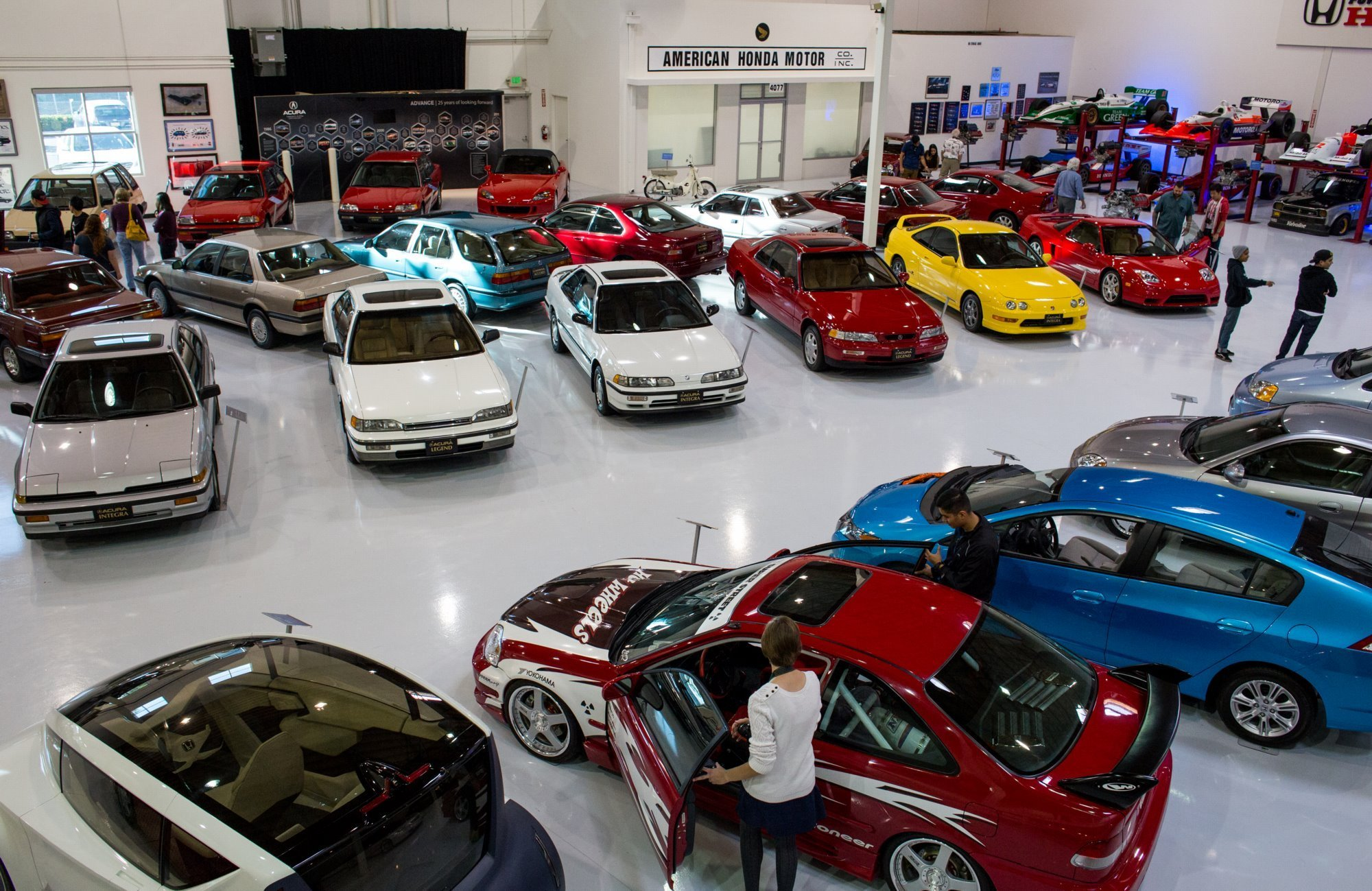 Last Year The Honda Museum In Torrance CA Had A Sort Of Rare Open House