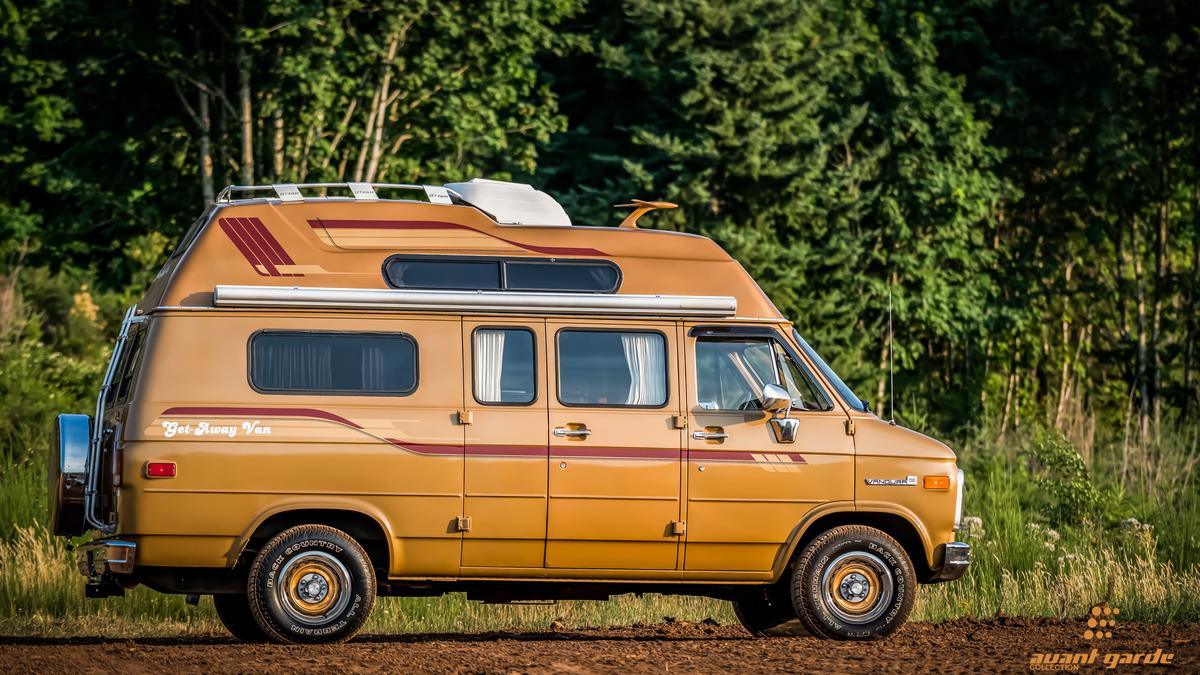 1985 Gmc Vandura 2500 Get Away Van Camper 1980 Ford Conversion Chevrolet For Sale Portland Oregon A Gccom 1