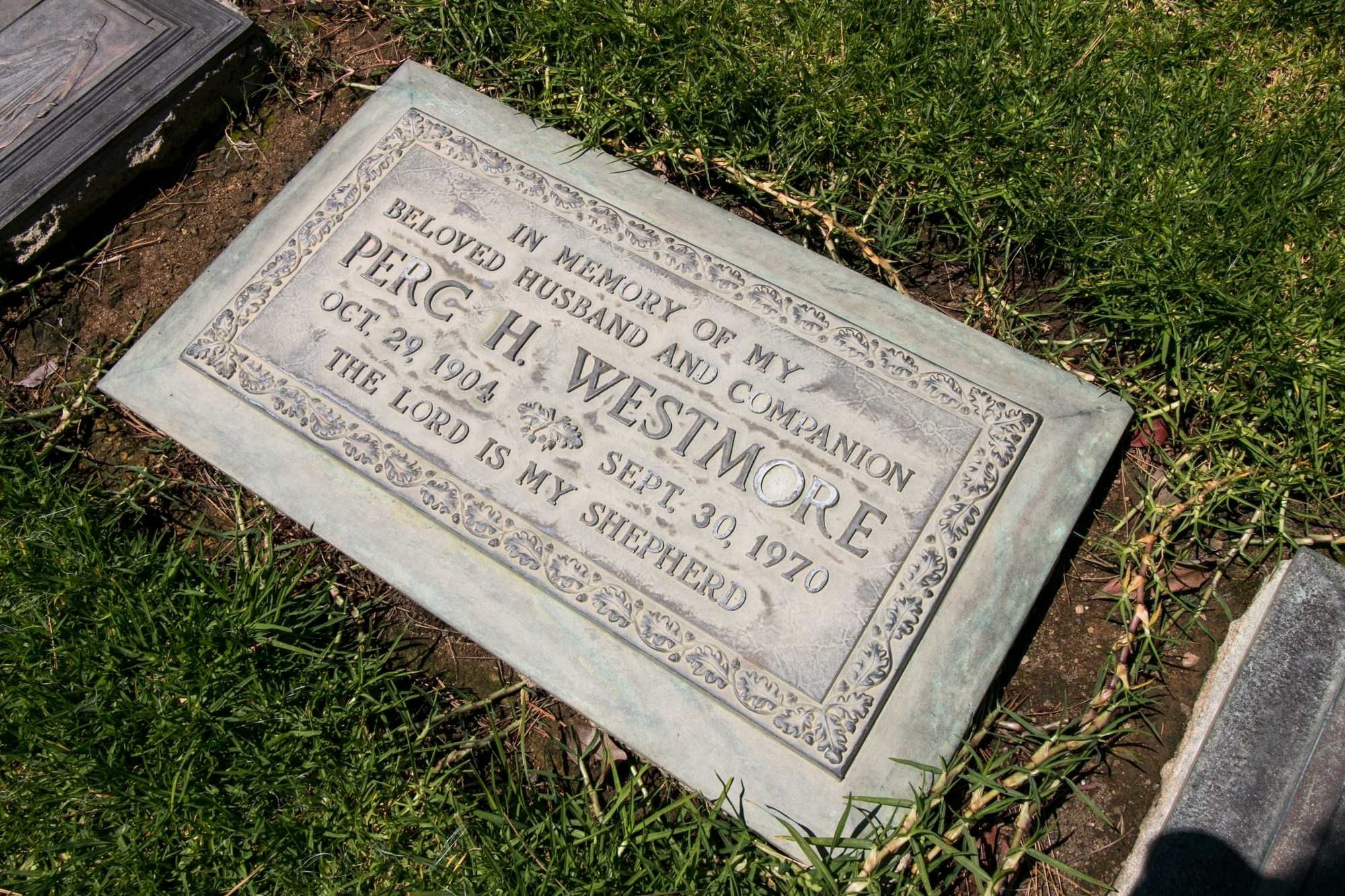 Walk among the graves of celebrities