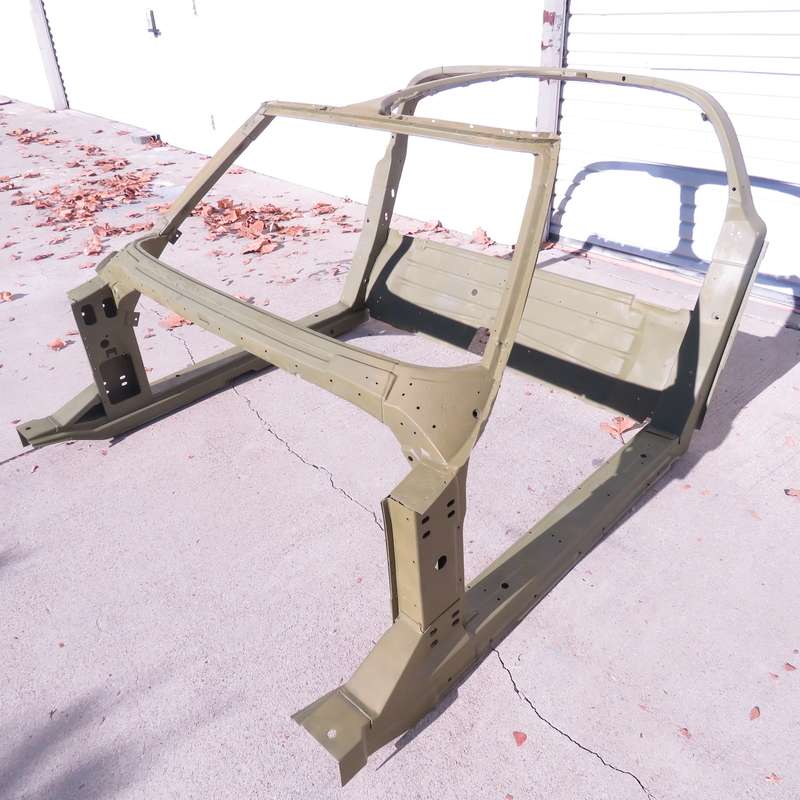Details about Corvette Original Complete Coupe Birdcage Body Frame 1970-1971