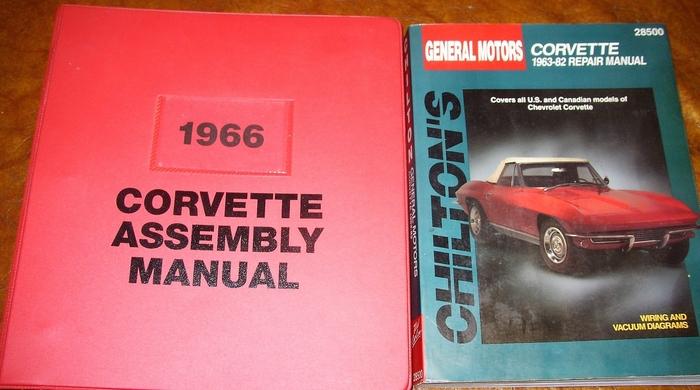CORVETTE 1966 Assembly Manual 66 Vette