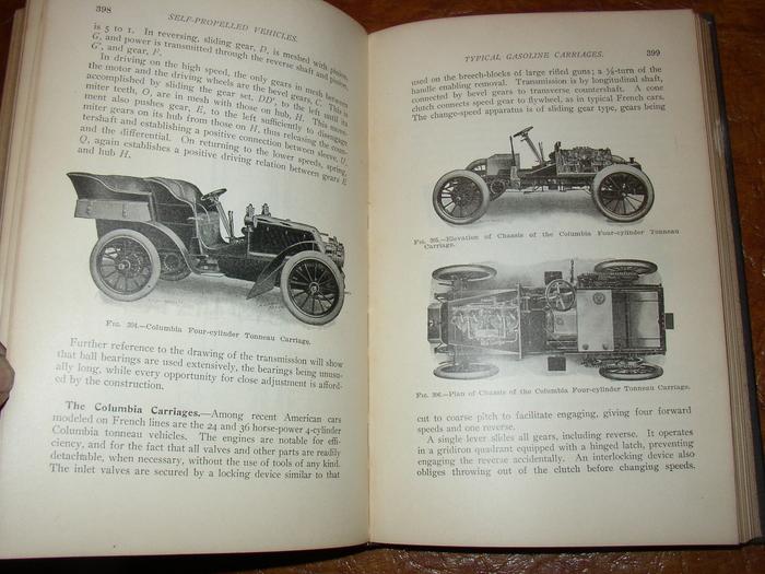 1905 1906-1910 Self Propelled Vehicles Daimler Cadillac ...