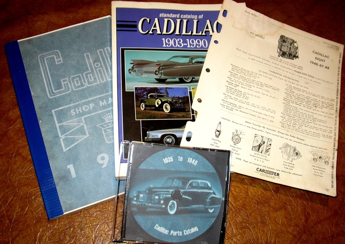 1948 Cadillac Shop Repair Manual on CD Series 61 62 Sixty Special Fleetwood 75