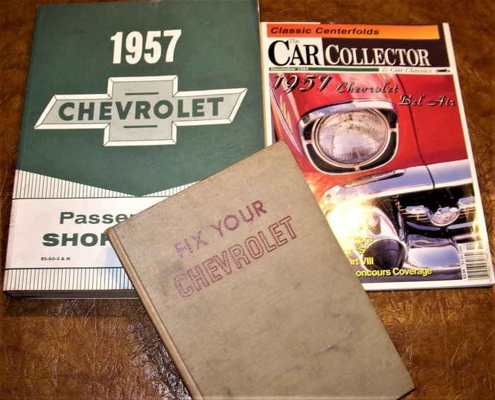 1957 Chevy Bel Air Lubrication Inspection and Adjustment Manual 57 Chevrolet