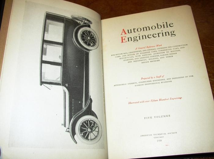 1915 1916 1917 1918 Auto Engineering Nash Olds Dodge