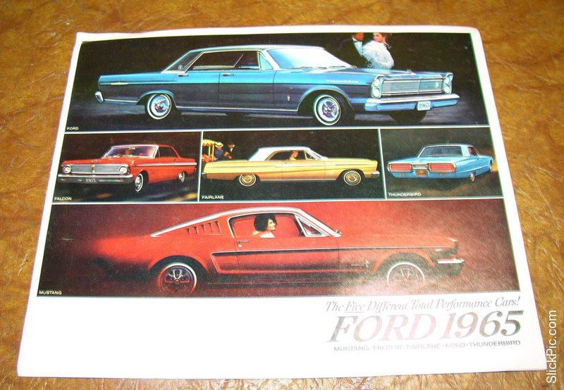 1965 Ford Mustang Parts Catalog