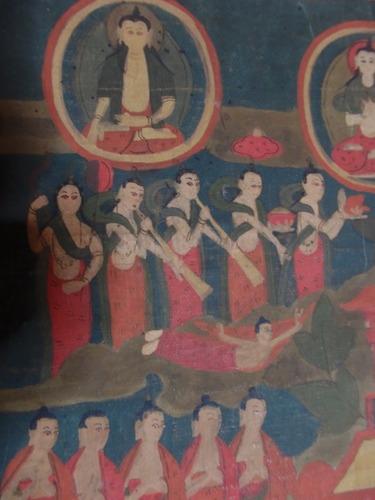 17th Century Antique Tibet Thangka Painting Buddhist