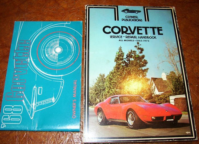 CORVETTE 1964 Owner/'s Manual 64 Vette
