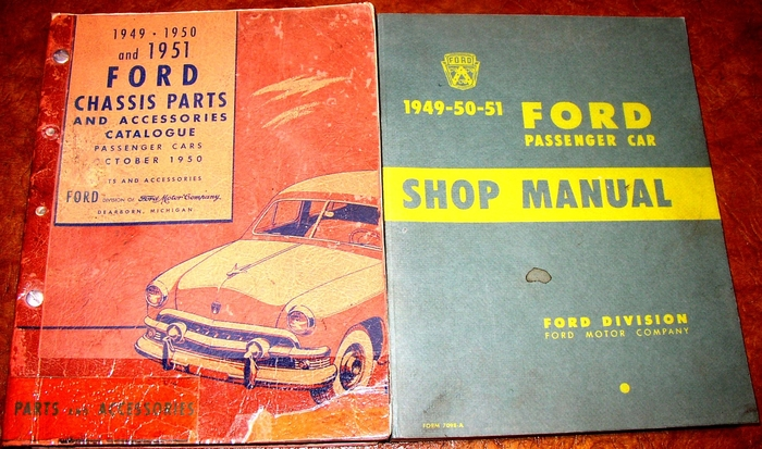 1949 1950 1951 FORD Car Shop Service Repair Manual Book