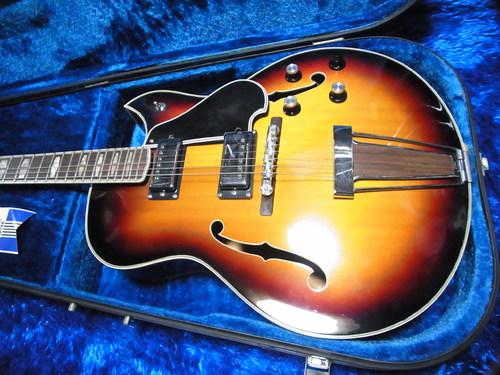 vintage yamaha ae 11 ae11 hollow body electric guitar w case japan 11 6 4958433733445 ebay. Black Bedroom Furniture Sets. Home Design Ideas
