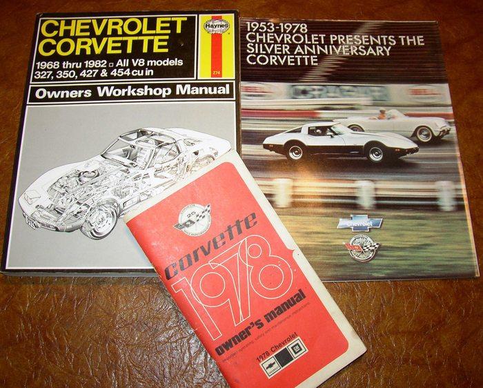 corvette service book owners manual brochure 1978 78 l82 l 82 l48 rh ebay com 1978 corvette owners manual pdf 1978 corvette service manual