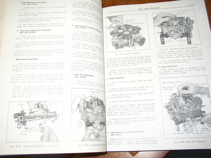 1965 Cadillac Shop Manual Amp Parts Catalog Cd Deville