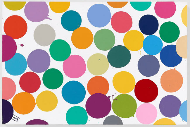 079-damien-hirst-mansion-dot-paintings-2