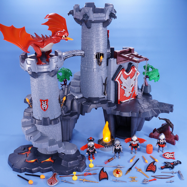 Playmobil Dragon Castle Instructions